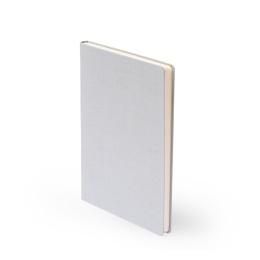 Notizbuch LEINEN hellgrau | DIN A 5, 96 Blatt Punktraster