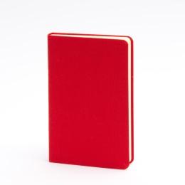 Notebook LEINEN red | 9 x 14 cm, 96 sheet dot matrix