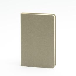 Notizbuch LEINEN olive | 9 x 14 cm, 96 Blatt Punktraster