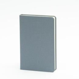Notizbuch LEINEN nachtblau | 9 x 14 cm, 96 Blatt Punktraster