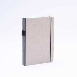 Notizbuch MINIMALIST GREY anthrazit | DIN A 5, 144 Blatt blanko