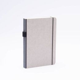 Notizbuch MINIMALIST GREY anthrazit | DIN A 5, 144 Blatt Punktraster