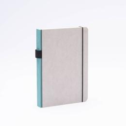 Notizbuch MINIMALIST GREY jade | DIN A 5, 144 Blatt Punktraster