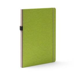 Notizbuch NEW GENERATION grün | DIN A 4, 96 Blatt liniert