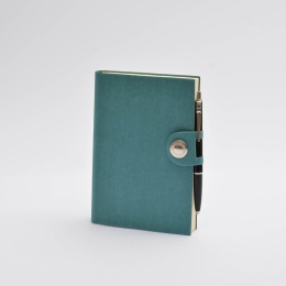 Notizbuch NOX türkis | 12 x 16,5 cm, 144 Blatt blanko