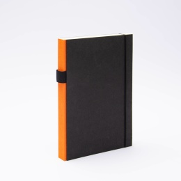 Notizbuch PURIST orange | DIN A 5, 144 Blatt liniert