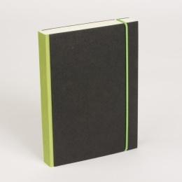Notizbuch PURIST grün | DIN A 5, 144 Blatt blanko