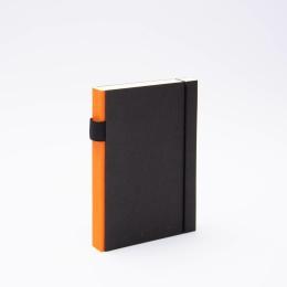 Notizbuch PURIST orange | 12 x 16,5 cm, 144 Blatt Punktraster