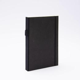 Notizbuch PURIST schwarz | DIN A5, 144 Blatt Punktraster
