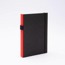 Notizbuch PURIST rot | DIN A5, 144 Blatt Punktraster