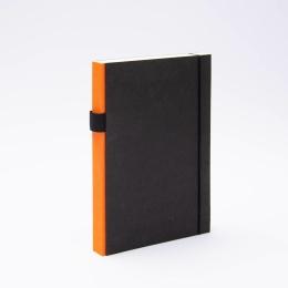 Notizbuch PURIST orange   DIN A5, 144 Blatt Punktraster
