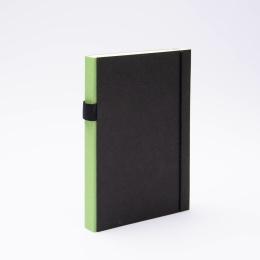Notizbuch PURIST grün | DIN A5, 144 Blatt Punktraster