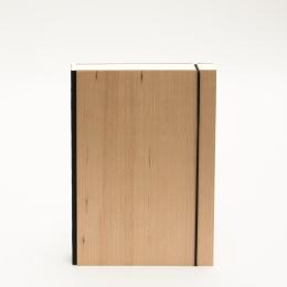 Notizbuch PURIST WOOD Kirsche | DIN A 5, 144 Blatt blanko