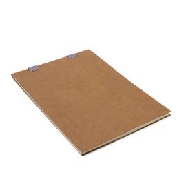Skizzenblock CLIPPER natur-braun | DIN A4, 50 Blatt blanko, 120 g