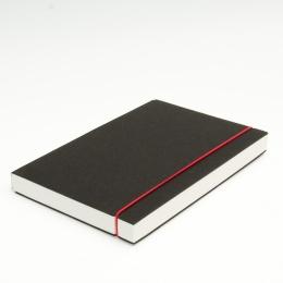 Skizzenbuch INSPIRATION Gummi rot | DIN A 5, 96 Blatt blanko 160 g