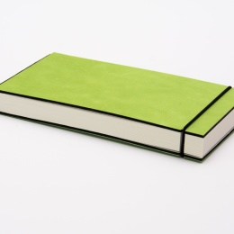 Skizzenbuch INSPIRATION COLOUR grün | 21 x 10,5 cm, 96 Blatt blanko 120 g