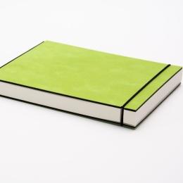 Skizzenbuch INSPIRATION COLOUR grün | 21 x 21 cm, 96 Blatt blanko 120 g