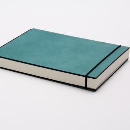 Skizzenbuch INSPIRATION COLOUR türkis | 21 x 21 cm, 96 Blatt blanko 120 g