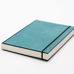 Skizzenbuch INSPIRATION COLOUR türkis | DIN A5, 96 Blatt blanko 120 g
