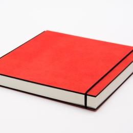 Skizzenbuch INSPIRATION COLOUR rot | DIN A5, quer, 96 Blatt blanko 120 g