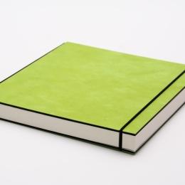 Skizzenbuch INSPIRATION COLOUR grün | DIN A5, quer, 96 Blatt blanko 120 g