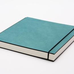 Skizzenbuch INSPIRATION COLOUR türkis | DIN A5, quer, 96 Blatt blanko 120 g