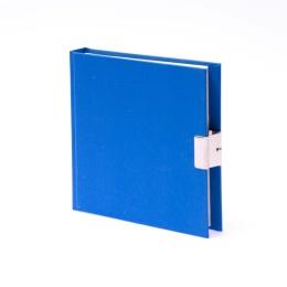 Tagebuch LEINEN hellblau