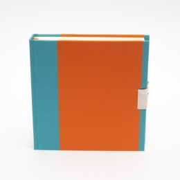 Tagebuch TRUE COLOURS türkis/orange