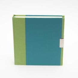 Tagebuch TRUE COLOURS grün/türkis
