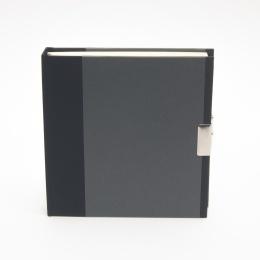 Tagebuch TRUE COLOURS schwarz/grau
